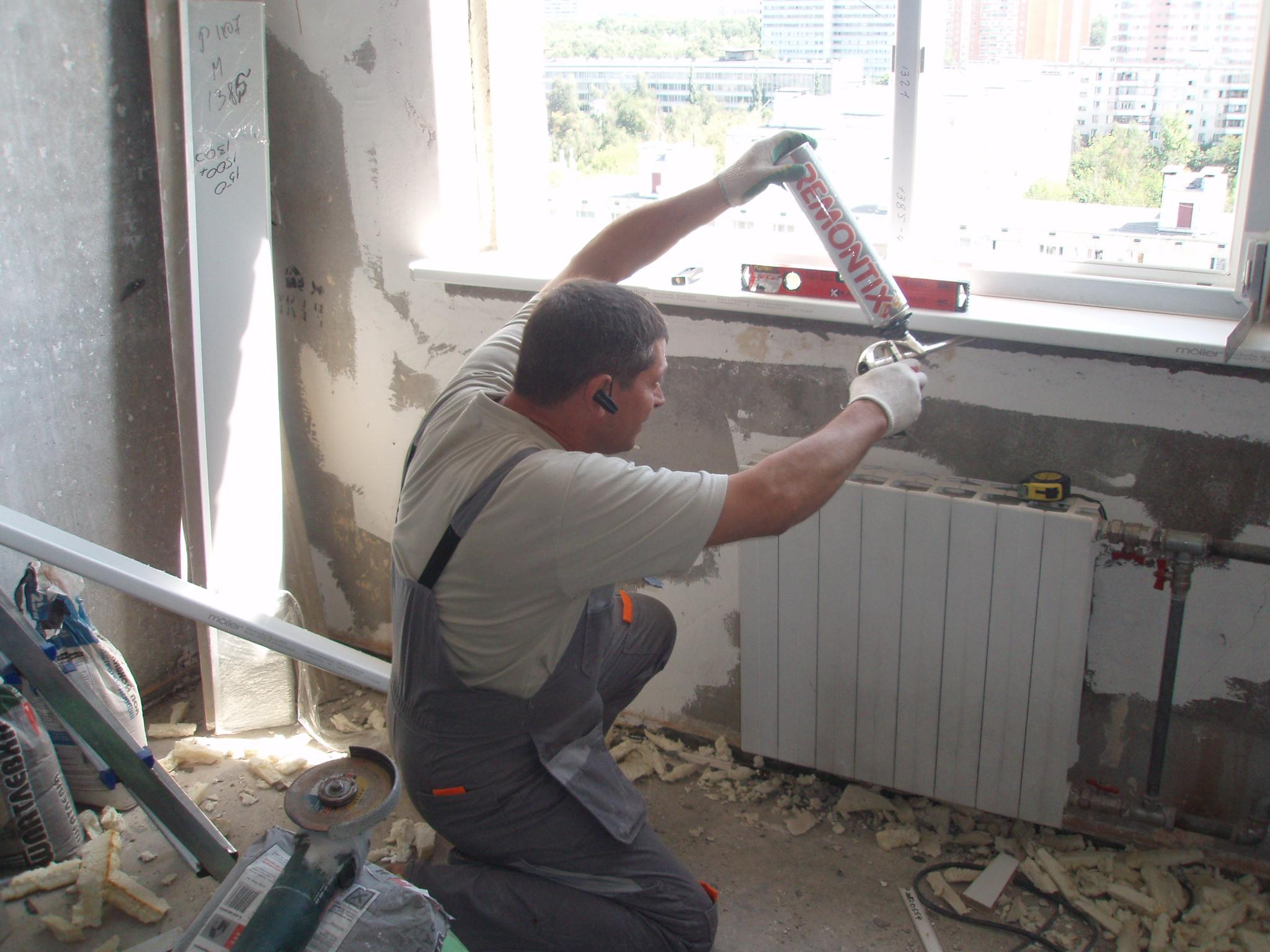 Монтаж и демонтаж окон в москве - eco-okna.